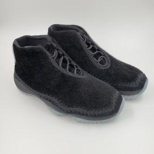 Nike Air Jordan Women's Future Night Black Size 6
